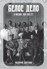 Белое дело в России. 1920–1922 гг. - Василий Цветков