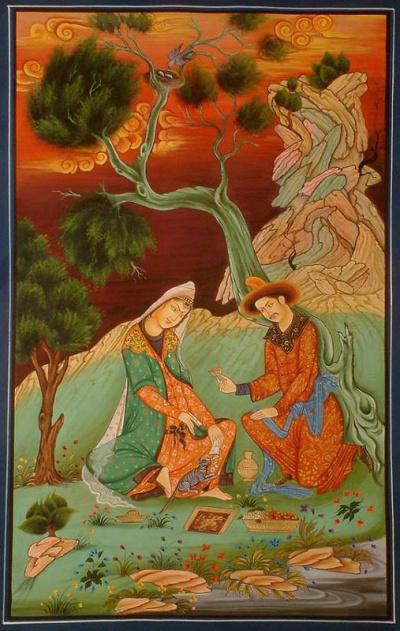 Гянджеви Низами - Лейли и Меджнун